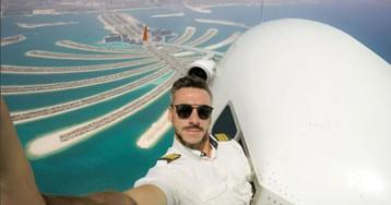 «Ты куда полез?» Подписчики пилота выясняют, настоящие у него селфи или фейк