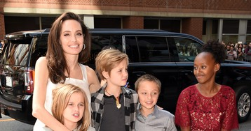 Family Fun! Angelina Jolie Steps Out with 5 of Her 6 Kids to the Toronto FilmFestival