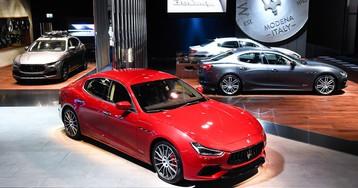 Maserati Hits Frankfurt With Full Revised Lineup