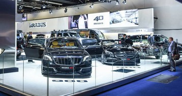 Brabus And Startech Combine For Monstrous Amounts Of HP At IAA