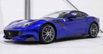 One-Off Electric Blue Ferrari F12tdf Is A Million Dollar Investment