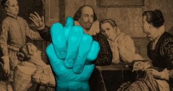 Есть вопрос: Был ли Шекспир жмотом?
