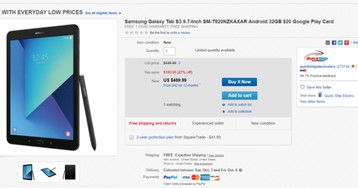 [Deal Alert] Grab a Samsung Galaxy Tab S3 with a $20 Google Play gift card for $469.99 ($130 off)