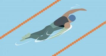 Как плавание помогает восстановиться после тяжёлой тренировки