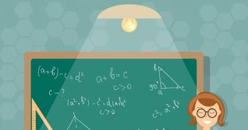Урок геометрии. Учительница задаёт вопрос…