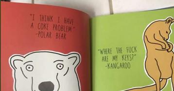 Собака-обзывака и мишка-наркоман. Бабушка купила внучке книгу, не открыв её, и чуть не научила девочку мату