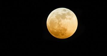 The Harvest Moon Is Tonight