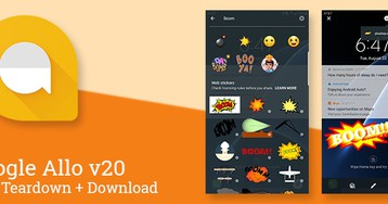 Allo is rolling out Web Stickers and group chat mentions, v20 prepares to add more advanced group management and more [APK Teardown]