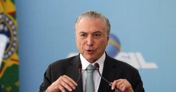 Temer deseja paz ao Brasil no dia de Nossa Senhora Aparecida