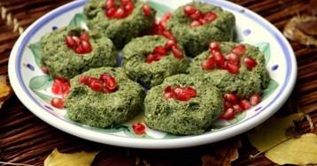 Пхали из зеленой фасоли