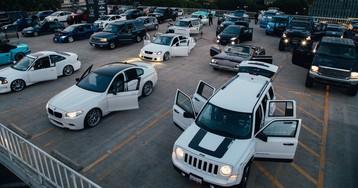 Японец исполнил симфонию 100 автомобилей