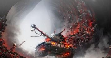 В World of Tanks добавили чудовищный танк из преисподней