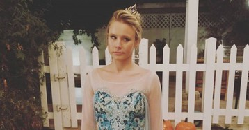 Kristen Bell's Halloween costume might be the most delightful thing in 2017