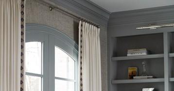 Trimming Plain Curtains