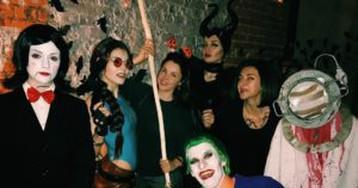 Хэллоуин по-русски: какие фото звезды разместили в Instagram?
