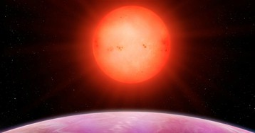 Scientists are scratching their heads after finding a massive planet orbiting a small star