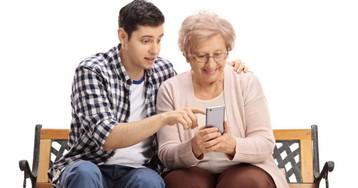 Мобильник для бабули