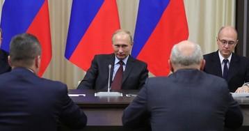 Путин пообещал награды всем отставным губернаторам кроме одного