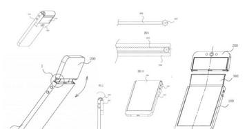 OPPO folding phone patent shows bizarre bendable selfie camera