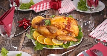 Аппетитная курица, запеченная с имбирем и апельсинами