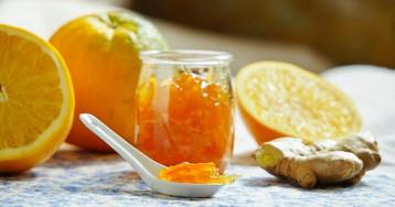 Ароматное карамельно-апельсиновое варенье