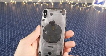 iPhone X clear back mod will make you think twice