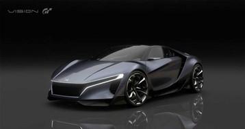 Honda Sports Vision Gran Turismo looks fantastic racing digital tracks