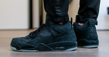 The Black KAWS x Air Jordan 4 Reportedly Releasing on Cyber Monday