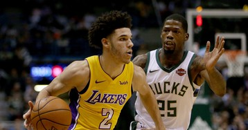 Lonzo Ball Becomes Youngest NBA Player to Notch a Triple-Double