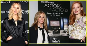 Jennifer Lawrence, Jessica Chastain & More Speak for Variety's 'Actors on Actors' Studio
