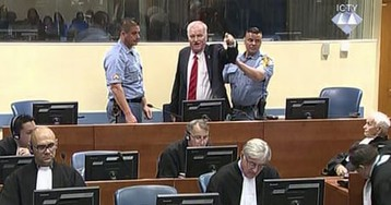 Mladić removed from court after angry outburst – video