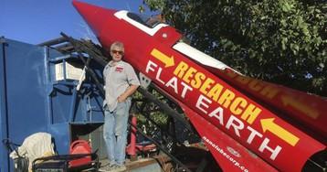 Surprise: Steam rocket man's flat-Earth flight grounded
