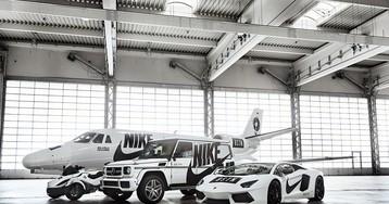 Nike Celebrates the Air Force 1 With Custom Jet & Car Fleet