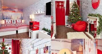 В рождественском грузовике Coca-Cola теперь можно переночевать. Но только один раз, в Лондоне и по конкурсу