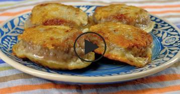 ВИДЕО-РЕЦЕПТ: Зразы с яично-сырной начинкой