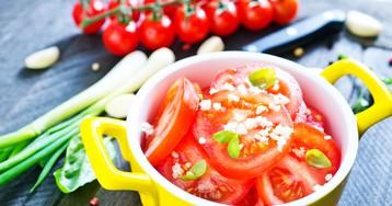 Аппетитные маринованные помидоры за 30 минут