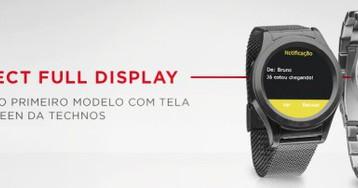 Technos lança o primeiro smartwatch brasileiro com Full Display Touch