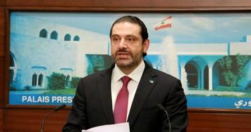 Lebanon's Hariri Says He'll Stay in Office