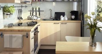 3 варианта планировки прямоугольной кухни в блочном доме