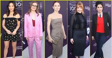 Olivia Munn, Gillian Jacobs, Jennifer Morrison & More Step Out for THR's Women In Entertainment Breakfast!