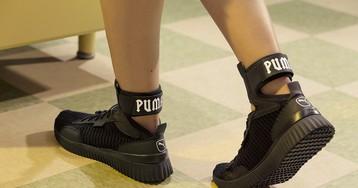 Rihanna Debuts All-New FENTY PUMA Trainer Mid Sneaker