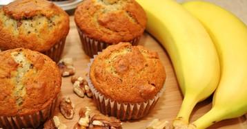 Аппетитные банановые кексы