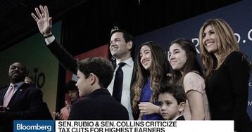 Sen. Collins and Sen. Rubio Put Tax Overhaul in Jeopardy
