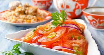 Шакароб по-фергански – салат к плову!