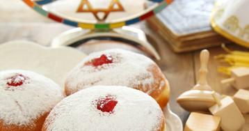 Еврейские пончики Суфганиет
