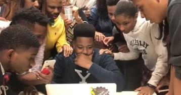 #BlackExcellence: Louisiana High School Becomes Viral Sensation After Posting Videos ofIvy League Acceptance Reactions