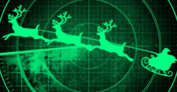 В небе олени! Зачем армия США следит за Санта-Клаусом