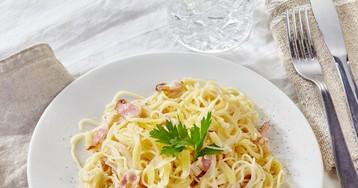 Спагетти карбонара по-домашнему