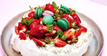 """Праздничный торт """"Павлова"""""""