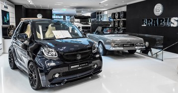 Visiting Germany? Check Out Brabus' New Flagship Showroom In Düsseldorf